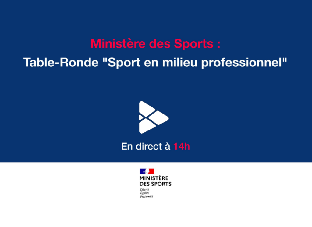 replay table ronde sport milieu pro